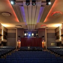 Interior photo of the Royal Cinema's auditorium in Toronto
