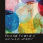 Abstract watercolour spheres as decoration of textbook,  The Routledge Handbook of Audiovisual Translation